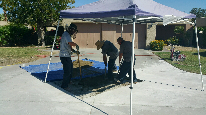 Teamwork at Wes Clarke Plumbing